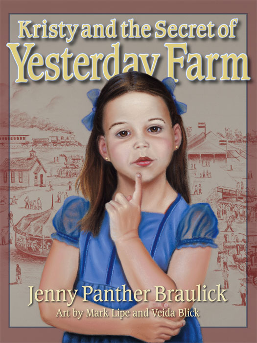 Kristy and the Secret of Yesterday Farm Cover